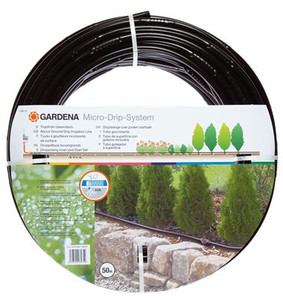"Above Ground Drip Irrigation Line 13 mm (1/2""), 50m"