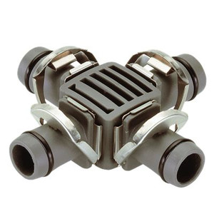 "4-Way Coupling 13 mm (1/2"") 2 szt."